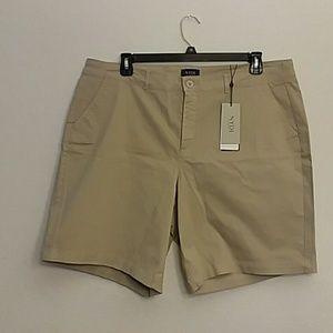 NYDJ women's Bermuda Twill Short s in Plus Size